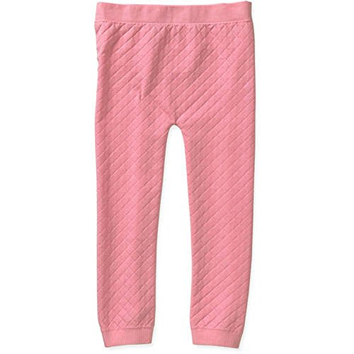 Miss Majesty Girls Quilted Seamless Leggings (7-16, Coral Intent)