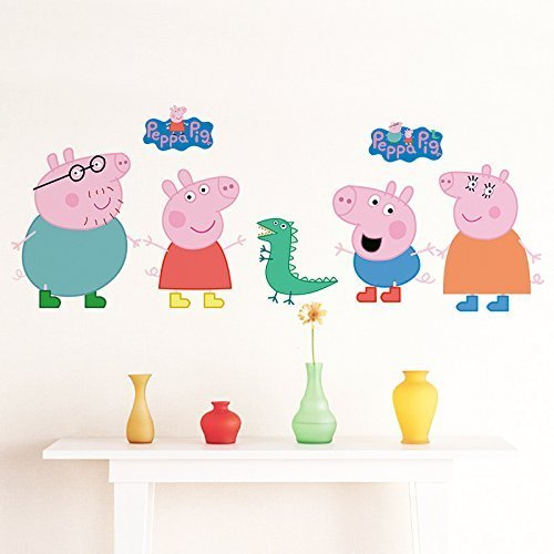 Peppa Pig Wall Sticker by Perfect Charms