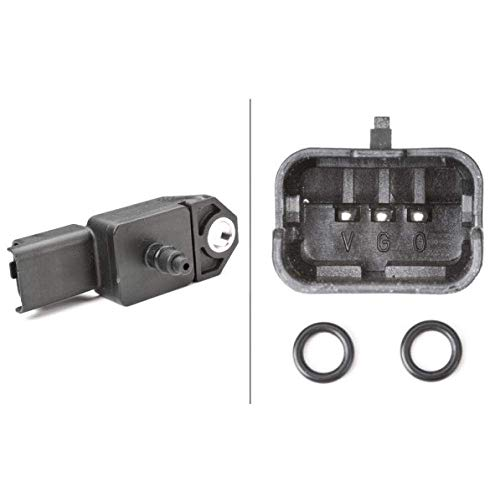HELLA 6PP 009 400-521 Sensor, presión de sobrealimentación - 5V - con junta