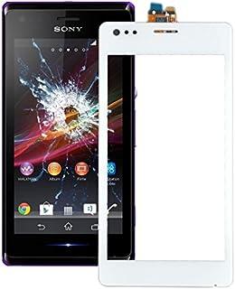Förnyelse Reparation för skärmskydd IPartsbuy pekskärm för Sony Xperia M / C1904 / C1905 Tillbehör (Color : White)
