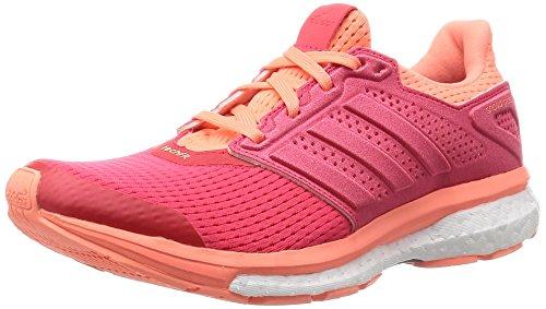 adidas Supernova Glide 8 W, Zapatillas de Running Mujer, Naranja/Rojo (Rojimp/Rojimp/Brisol), 36