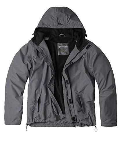 Surplus Windbreaker Zipper Outdoor Jacke, grau, L