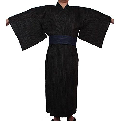 Fancy Pumpkin Kimono japonés de Yukata japonés para Hombres. Vestido de Pijamas japonés para tocador.