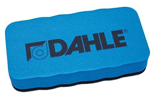 Dahle Whiteboard Schwamm (Magnetischer Wischer für Trockenreinigung auf vielen Oberflächen) blau