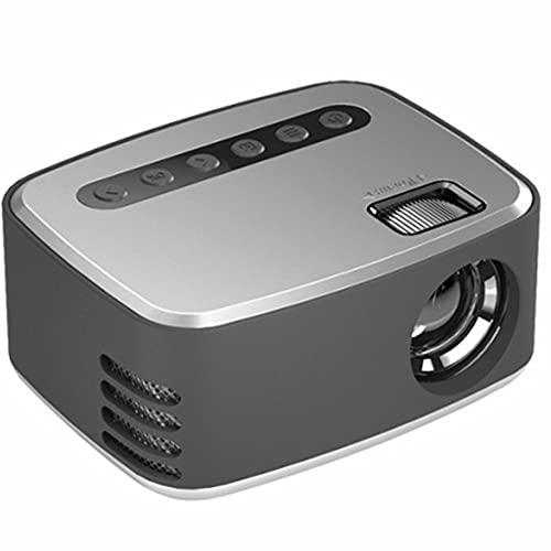 Mini Proyector Full HD 1080P 110 pulgadas Pantalla Adecuada para la escuela de la oficina en el hogar Proyector de películas portátiles de la escuela con 20,000 horas LED Bulb Life260G114 * 91 * 51mm