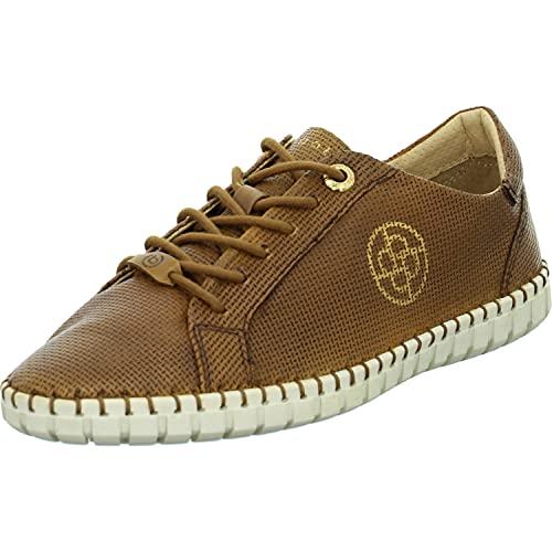 bugatti Damen 413A3U014000 Sneaker, Cognac, 36 EU