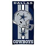 WinCraft NFL Dallas Cowboys A1874215 Fiber Beach Towel, 9 lb/30'...