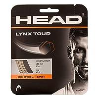 ヘッド 2020 LYNX TOUR (リンクスツアー) 硬式テニス ストリング ポリエステル ガット 281790 ゲージ:17/1.25mm シャンパン [並行輸入品]