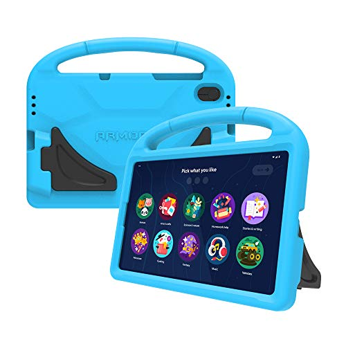 Lenovo [Case] 10.1 Inch Kid Bumper Case Protective Cover for Tablet M10 HD Plus, Blue