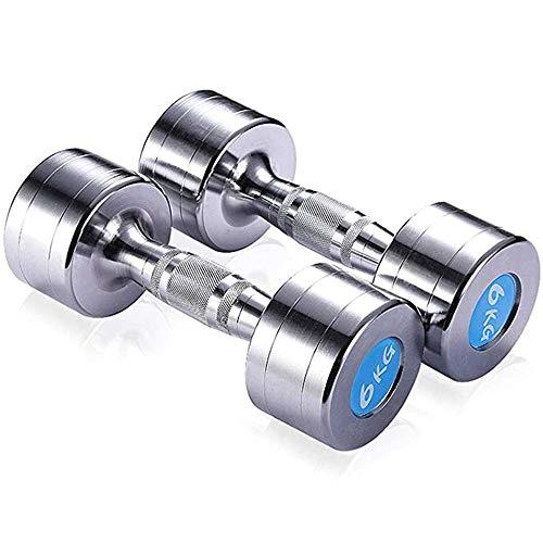 Für alles dankbar Hantel Pure Steel Hanteln Herren Fitnessgeräte Home Plating Arm Training 12kg