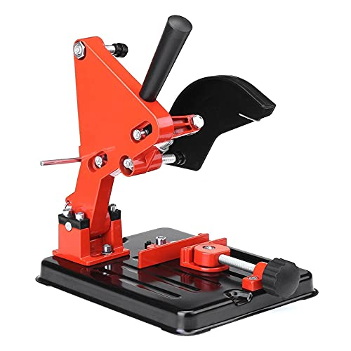 EXCLVEA Supporto per Smerigliatrici Angolari 100-125 45 ° Angle Angle Grinder Stand Taglierina 30mm profondità Supporto Supporto Supporto Supporto (Colore : Orange, Size : One Size)