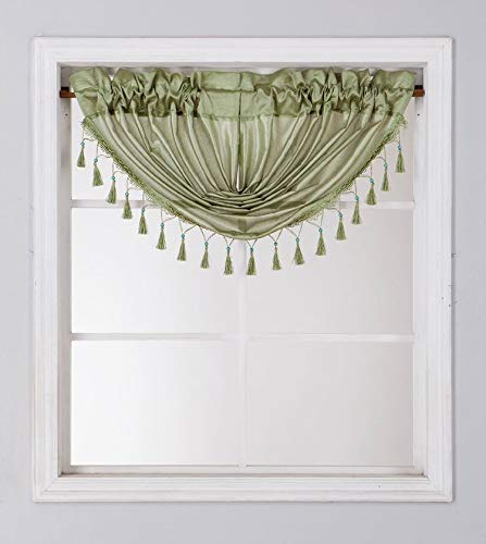 Waterfall Valance for Curtains & Drapes