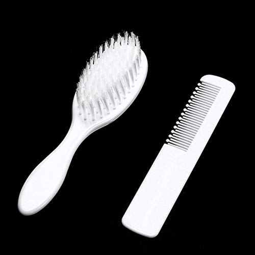 Baby Hair Brush and Comb Set for Newborns Toddlers Infant Safety Healthcare and Grooming Kit Scalp Massage Kit