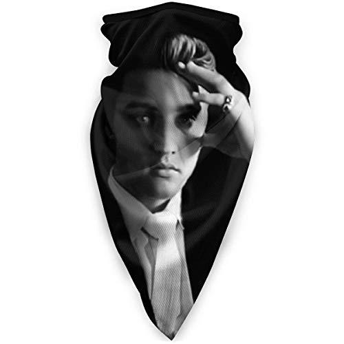 KW-Wosn Elvis Presley Multifunktionstuch Bandanas Halstuch Kopftuch Sport Stirnband Winddicht Schlauchtuch Kopftuch