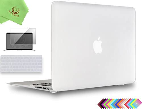 UESWILL Compatible with 3in1 Smooth Matte Hard Shell Case Cover for MacBook Air 11 inch Model product image