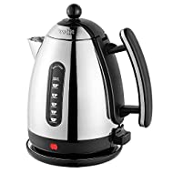 RAPID BOILING: The powerful 2.4kW element boils water fast so you don't have to wait long for your drink. Concealed in the kettle base, away from contact with water to reduce limescale damage, the Lite Kettle also has a safety feature that stops it f...