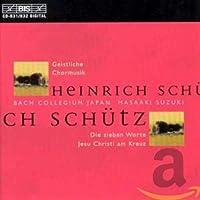 Schtz: Geistlich Chormusik - シュッツ:宗教的合唱曲集 (2CD)