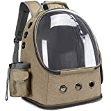 Pet Carrier Backpack, Bubble Backpack Carrier, Cat Space Capsule, Comfort Carrier for Small Dogs and Puppies, and Fashionable, Cat Travel Backpack