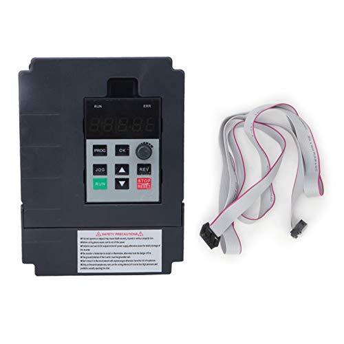 Variador de frecuencia, (DJD) JH-S2-2T Variador de frecuencia variable Universal Mini monofásico Entrada de 220 V Salida trifásica de 220 V, variador de frecuencia Variador (2.2KW)