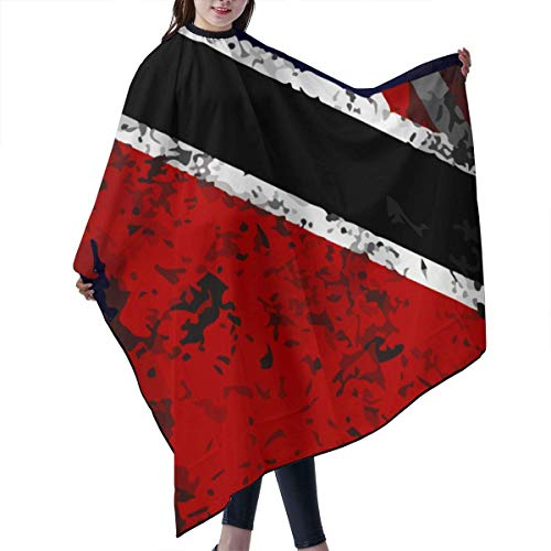 Trinidad Haarschneideumhang mit amerikanischer Flagge, Unisex, für Friseure zu Hause, für Friseursalon oder Friseursalon, 139,7 cm