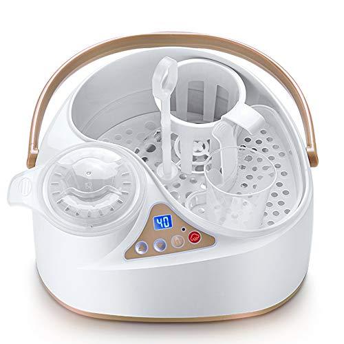 Grande capacità scalda biberon MultifunctionalBottle sterilizzatore Integratore Alimentare riscaldatore Veloce Riscaldamento/termostato Intelligente, BPA
