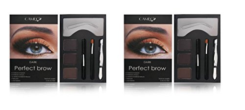 Cameo Perfect Brow Makeup Dark Brown (Pack of Two)