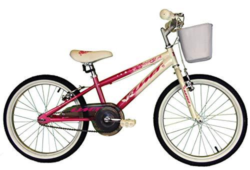 Umit Bicicleta 20 Pulgadas XT20, Unisex niños, Rosa/Blanca
