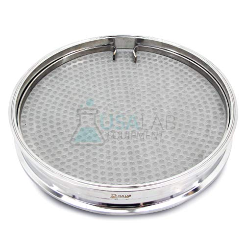 12' Tri-Clamp Filter Plate Kit with 100 Micron 150 Mesh and Compression Ring