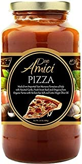 Due Amici Pizza Sauce - Non-GMO, Low Carb, 1-Pack (24-OZ)