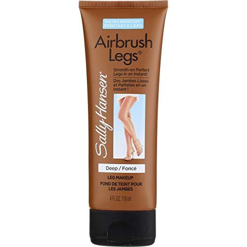 Sally Hansen Airbrush Legs Deep 4 Ounce Tube (118ml) (3 Pack)