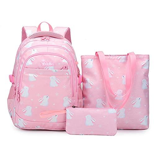 UKKO Bolsa para la Escuela Empresa Impermeable para Niños Bolsas De La Escuela De Las Niñas Princess Princess Mochilas De La Escuela Set Niños Schoolbag Mochila