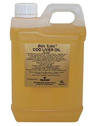 GOLD LABEL COD LIVER OIL - 2 LT - GLD0019