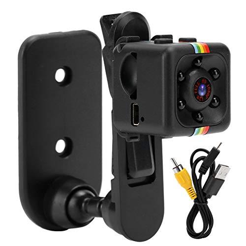Mxzzand Cámara portátil 1080P Durable Smart Multifuncional Mini videocámara Resistente al Desgaste Videograbadora