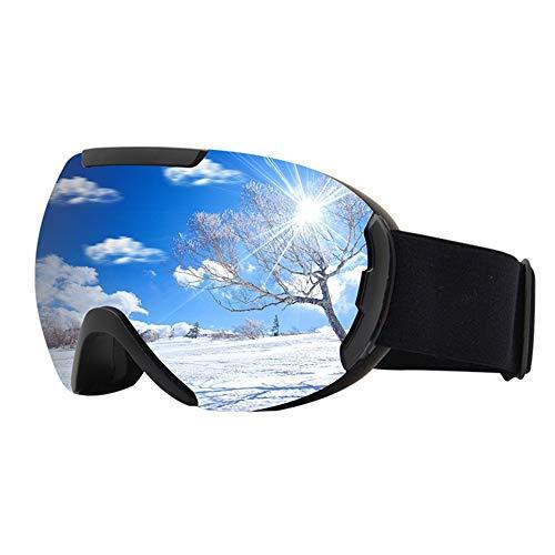 WOIA Gafas antiniebla de Doble Capa Gafas a Prueba de Rayos Ultravioleta para Hombres y Mujeres, Plateado