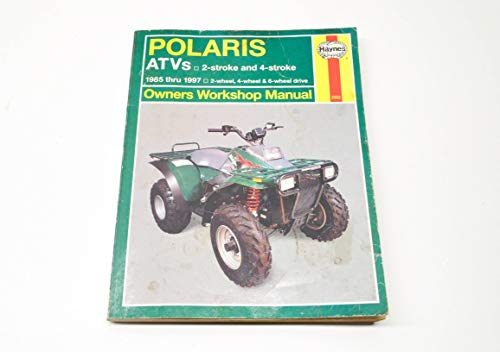 HAYNES 2302 REPAIR SERVICE MANUAL POLARIS ATVS (ALL) 1985-1997