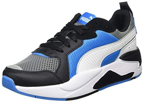 PUMA X-Ray JR, Sneaker, (Ultra Gray White Black/Dresden Blue), 39 EU