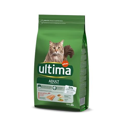 Ultima Cibo per Gatti Adulti con Salmone - 1.5 kg