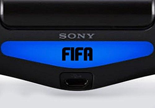 Play Station PS4 Lightbar Sticker Aufkleber Invertiert FIFA (schwarz)