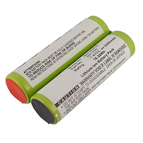 subtel® Premium Akku (7.4V, 2.2Ah, Li-Ion) kompatibel mit Bosch PSR 7.2 LI/PSR 200 LI/AGS 7,2 Li/Prio Lithium-ion - BST200 Ersatzakku Batterie Werkzeugakku