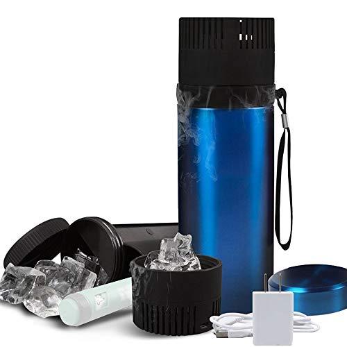 Shengy Draagbare koelkast, diabetici-tas, USB-drankkoeler, zomercamping, voor medicijnen, dranken, bierkoeling