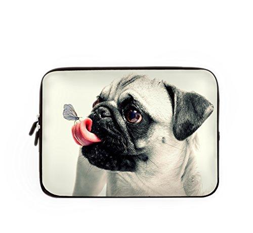 Waterbestendige lichtgewicht laptop sleeve neopreen cover draagtas beschermende tas voor Macbook tablet 13 inch Knuffel met Vlinder