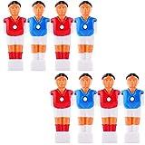 YINASI 8pcs Soccer Foosball Replacements, Foosball Man Table Guys Man...