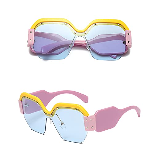 uiou Gafas de sol ONE para Hombre y Mujer.