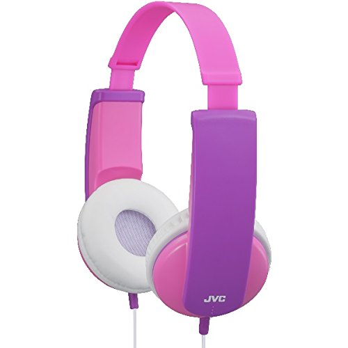 JVC Tiny Phones Kids Stereo Headphones with Volume Limiter - Pink