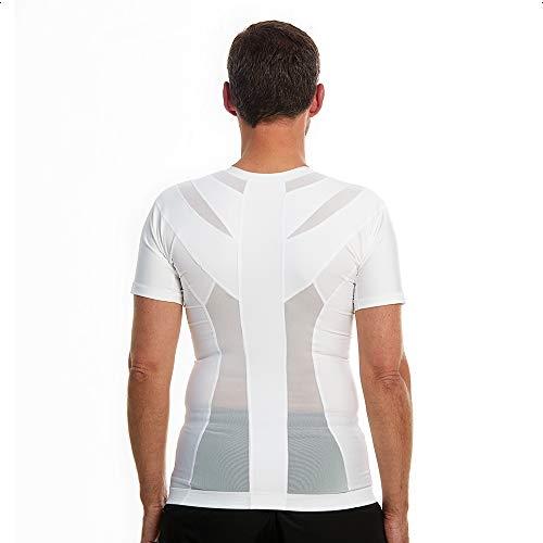 Anodyne Posture Shirt 2.0 Zip (z zamkiem błyskawicznym) – męska   Black FriDAY   korekta postawy pleców i barków   zmniejsza ból i napięcie   sprawdzona medycznie i dopuszczona do użytku  