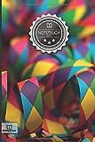 """Notizbuch: """"Karneval"""" • 100+ Seiten, liniert, Soft Cover, Inhaltsverzeichnis • Original PrettyNotes Blanko Notizbuch • Perfekt als Zeichenbuch, Malbuch, Hausaufgabenheft, Schulheft, Notizheft"""