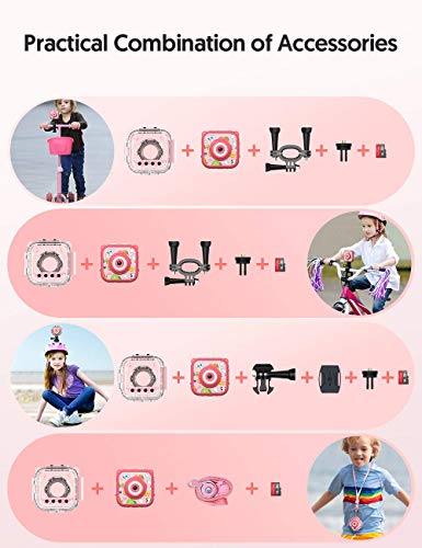 """Victure Kids Camera Waterproof 1080p Full HD Video Camcorders Sports Action Digital Camera with 16GB SD Card for Girls… 4 <p>【8MP Photo & 1080p HD Video & 16GB card】 Victure Kids Camera KC200 features Full HD 1080p@/30fps videos and 8MP bright photos, shooting the most memorable moments of children. Large-capacity storage card is good for children to take a lot of photos and videos. KC200 is the best action camera as a Christmas/ birthday/ holiday gift for children 4-12 years. 【Durable & Waterproof Case】With the professional IP68 level waterproof case, Victure waterproof video kids camera can be used underwater 30m (100ft) to explore adventures, best for beach, diving, swimming, drifting, snorkeling, surfing and more. 【Colorful Filters & Unique Frames】 With built-in 7 colorful video filters and 6 unique designed photo frames, Victure kids camera can fully develop children's creativity. 2"""" LCD color screen presents and view all images directly, making recording a lifestyle. 【Useful Accessories & Multiple combinations】Included Class 10 Micro SD 16GB Card and versatile mounting kits allow the kids sports camera arrive and play, can be attached to skateboards, bike or helmets. Durable neck strap ensure safe using and full-protection. 【Excellent After-Sales Service】Victure Kids Camera supports 30-days money back and 12 months warranty and free customer service for life. A qualified after-sale service team, 7 days/ 24 hours serving for you.</p>"""