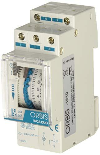 Orbis inca duo d - Interruptor horario modular...