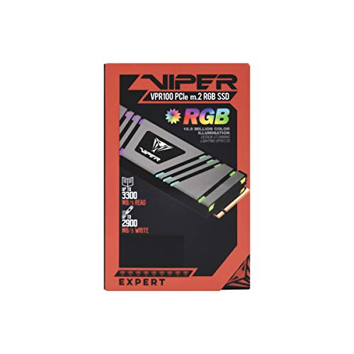 Patriot Viper VPR100 512GB M.2 2280 PCIe RGB SSD