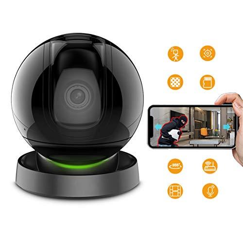 LHR 1080P Intelligenter Monitor, 360 ° WiFi PTZ-Kamera/Zwei-Wege-Sprach- / Cloud-Speicher/Infrarot-Nachtsicht/Geeignet Für Zuhause/Geschäft/Baby